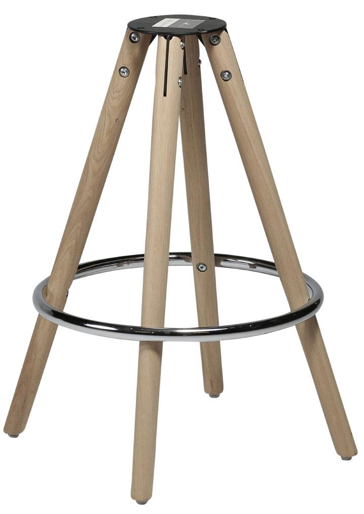 Orso Hög Barstol Orange Läder Möbler