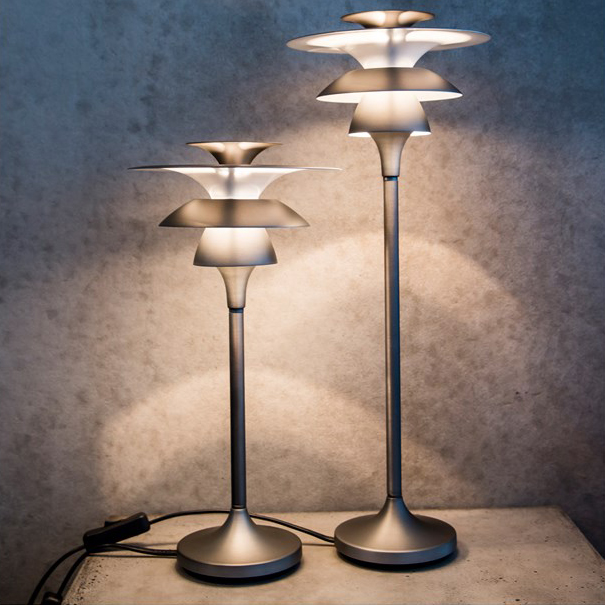 Picasso Bordlampa H46.5 cm LED Oxidgrå