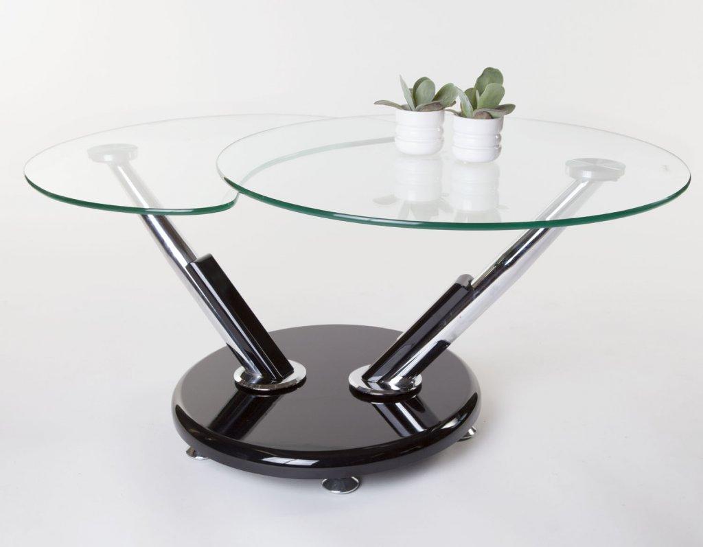 Sintra Soffbord Glas Svart Möbler Folkhemmet com