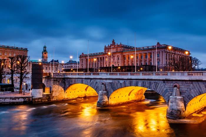 Riksdagshuset Stockholm Fotokonst Tavlor Folkhemmet Com