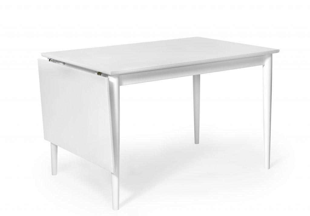 Wasa Matbord 120 Med Klaff Vitlack Bord Möbler Folkhemmet Com