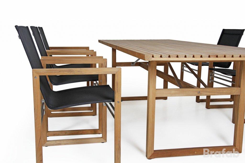 Vevi Matbord 230x95cm Teak Teak Matbord Utemöbler Och Trädgårdsmöbler Folkhemmet Com